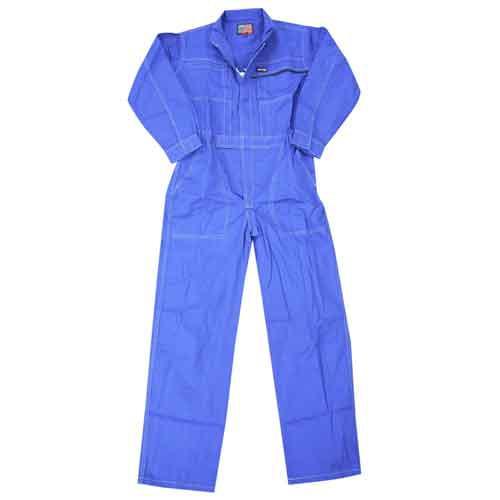 コーコス信岡 防水ポケットツナギ 860 ブルー 3L