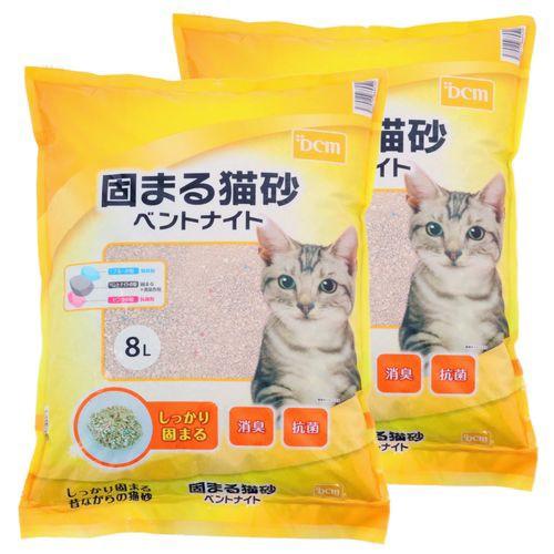 DCMブランド 【2個入販売】猫砂ベントナイト 2個...