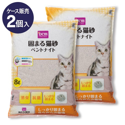 DCMブランド 【ケース販売】固まる猫砂ベントナイ...