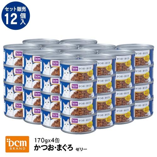 DCM 【ケース販売】DCM猫缶かつおまぐろゼリー 17...