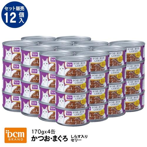 DCMブランド 【ケース販売】DCM猫缶かつおまぐろ...