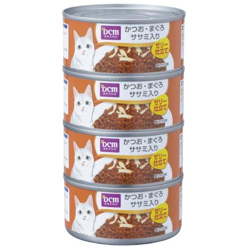 DCMブランド DCMブランド猫缶かつおまぐろ170gx4...
