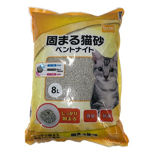 DCMブランド 固まる猫砂ベントナイト 8L