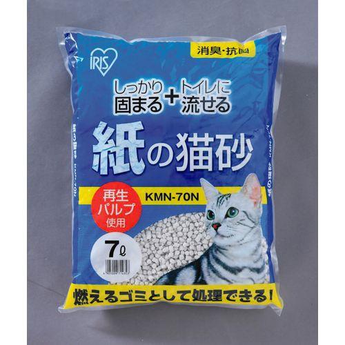 アイリスオーヤマ 紙の猫砂6個セット KMN-70N