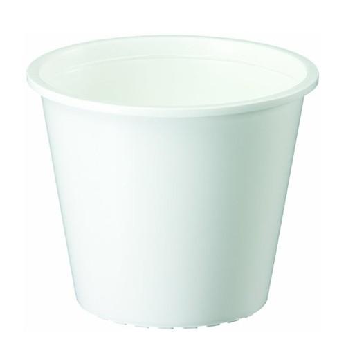 ヤマト プラ鉢 0.5L ホワイト ホワイト 4号鉢