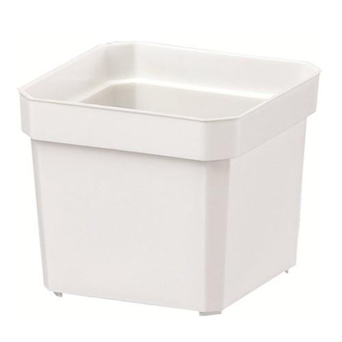 ヤマト プラントポット 0.08L ホワイト 2号鉢