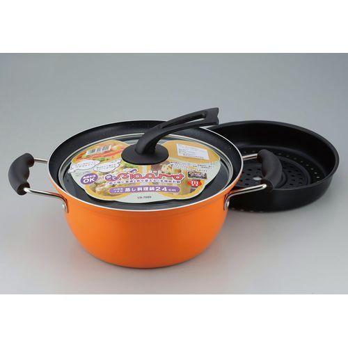 和平フレイズ ゆでマーロIH対応蒸し料理鍋鍋24cm ...