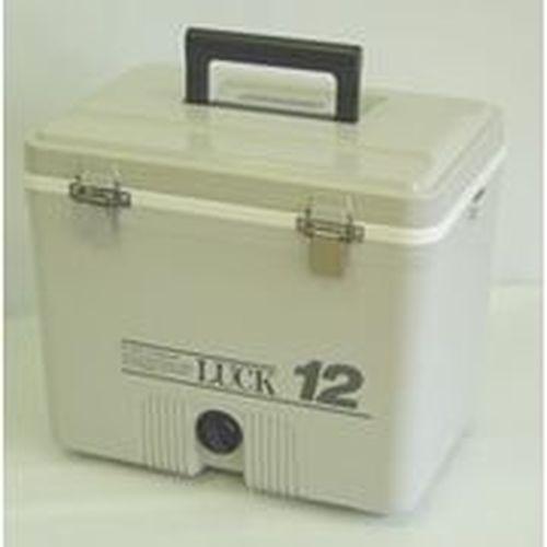 秀和 レジャークーラー LUCKラック 12 グレー 12...