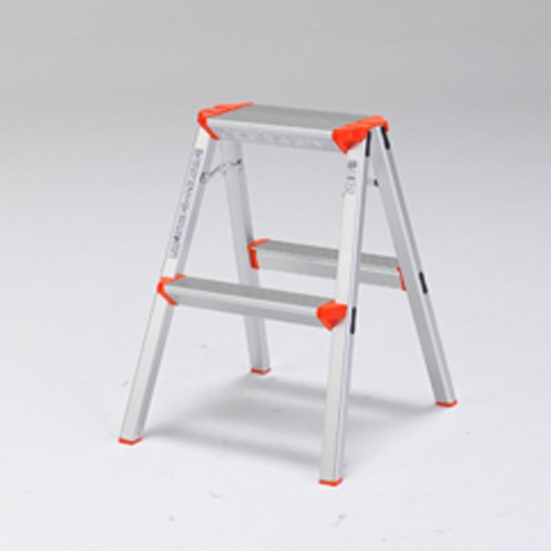 ALINCO アルミ踏み台2段 CCA60K 天板高さ:56cm