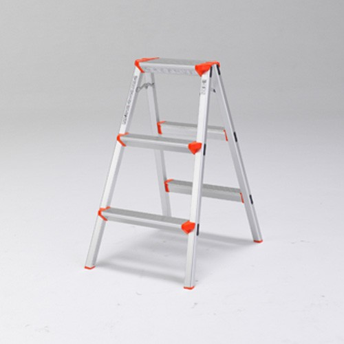 ALINCO アルミ踏み台3段 CCA80K 天板高さ:79cm