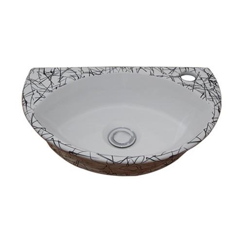 洗面ボウル 陶器 オンカウンタータイプ 幅40.5×...