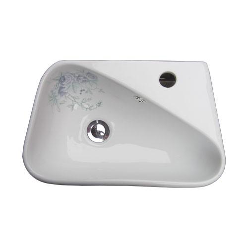 洗面ボウル 陶器 オンカウンター/壁掛けタイプ ボ...