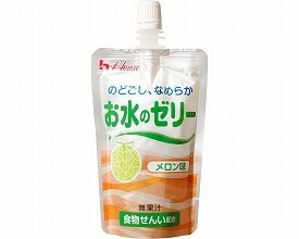 ハウス食品 区分4 お水のゼリー メロン味 85536→...