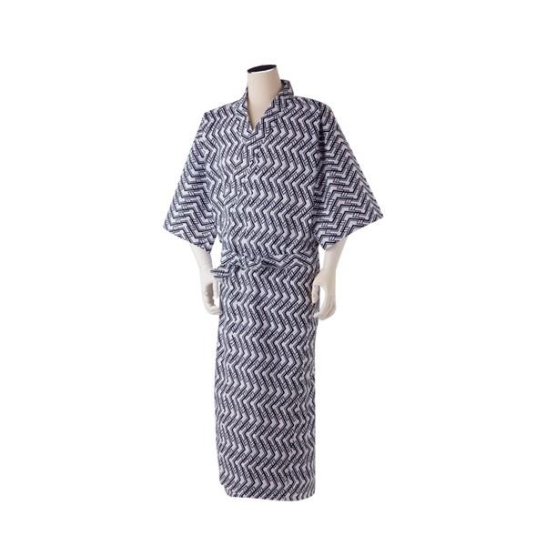 男性用 ガーゼ ねまき MN0407 S M L 日伸 (和式寝...