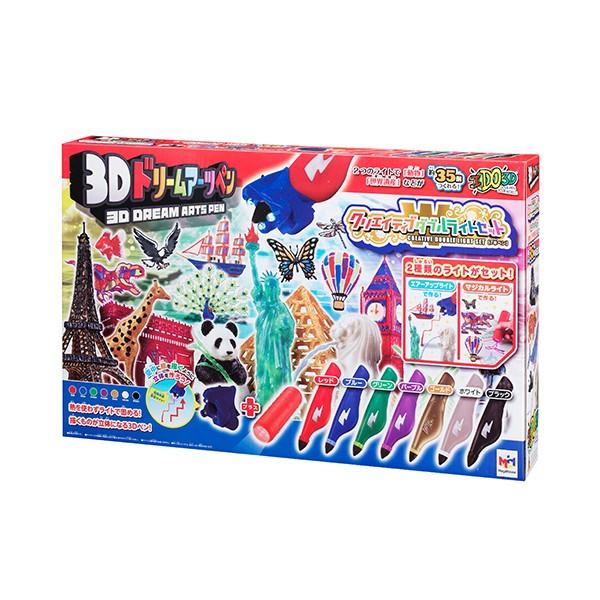 3Dドリームアーツペン クリスタルライトアップセ...
