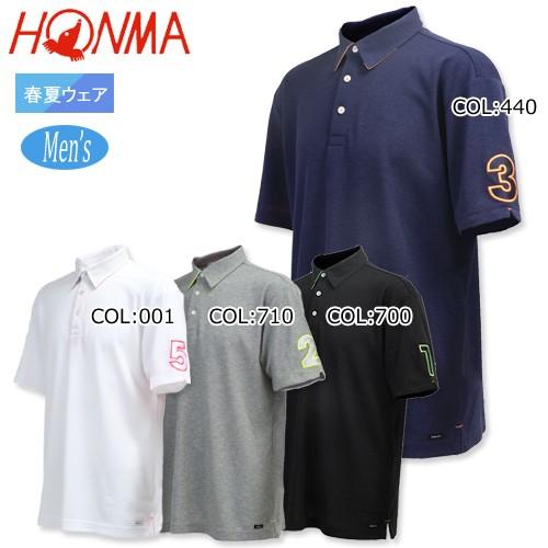 本間ゴルフ HONMA 131-733131 メンズ ポロシャツ ...