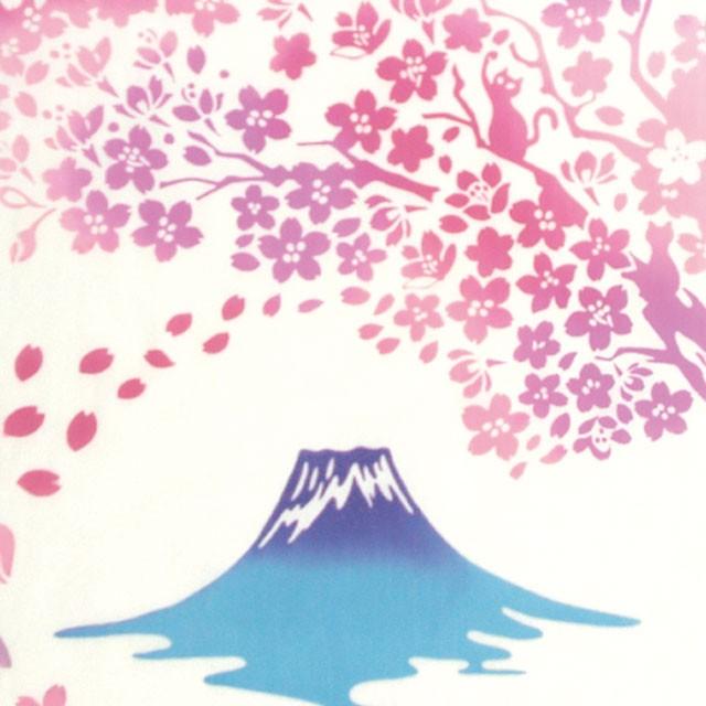 kenema- 注染手拭い さくら『富士見桜』【ゆうパ...