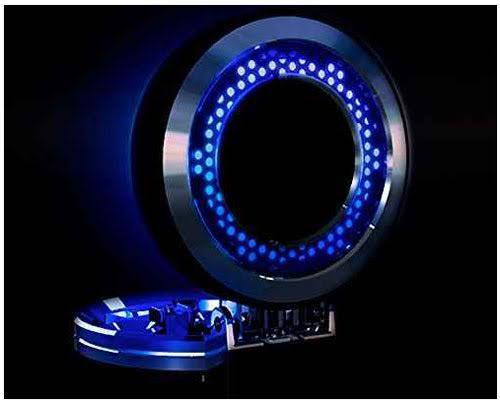 LED付車用ソーラーメタルアッシュ 灰皿 ED-110 ...