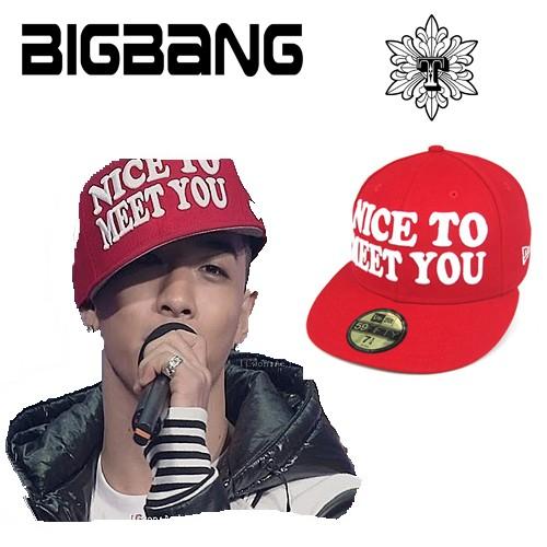 BIGBANG SOL(テヤン)着用 NICETO MEET YOU  ...