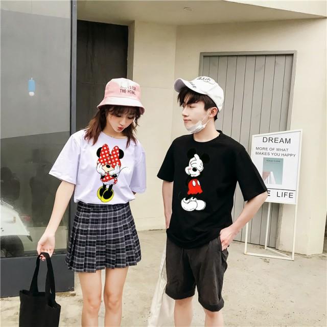 可愛いミッキーミニープリント★男女兼用 ユニセ...