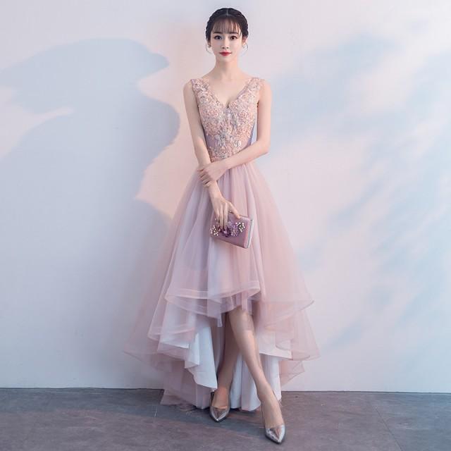 パーティードレス ドレス 結婚式 成人式 二次会 ...