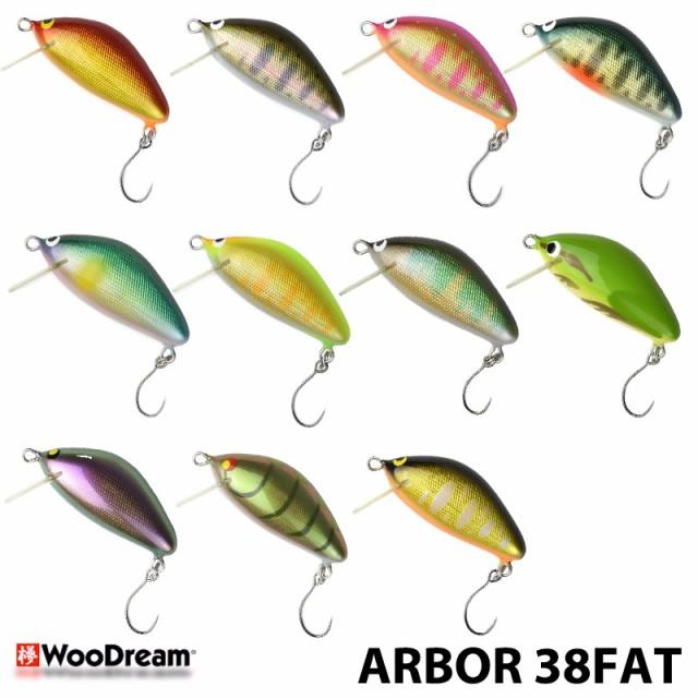 ウッドリーム Arbor 38FAT アルボル 3g
