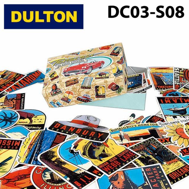 ダルトン DC03-S08 オールドステイツステッカー