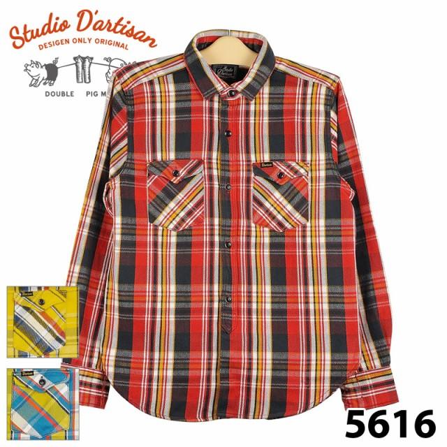 ダルチザン 5616 ネルシャツ