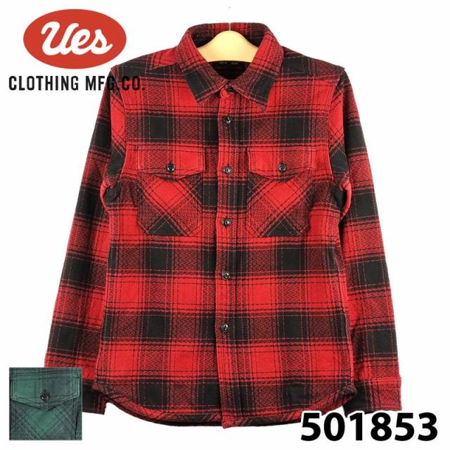 ウエス 501853 エクストラヘビーネルシャツ