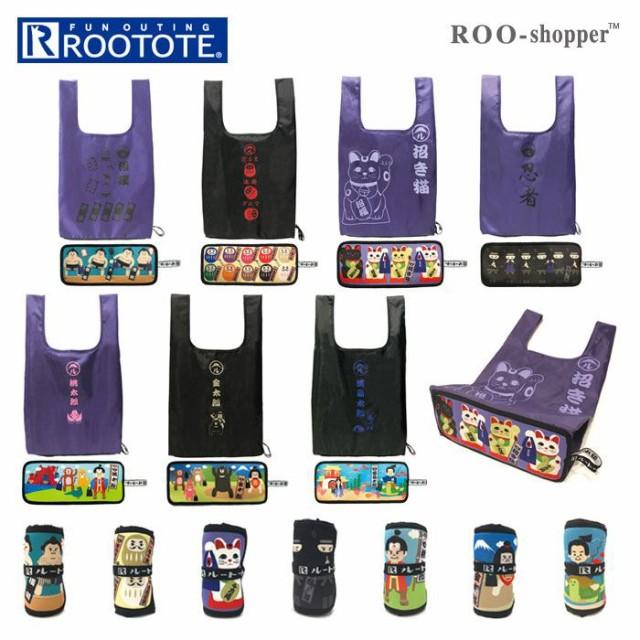 ルートート エコバッグ 通販 ROOTOTE 6736 ルーショッパー ROO-shopper ロール 折りたたみ コンパクト 軽量 軽い おしゃれ かわいい COOL