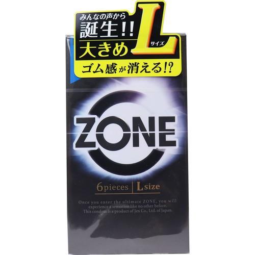 【ZONE(ゾーン) コンドーム Lサイズ 6個入】