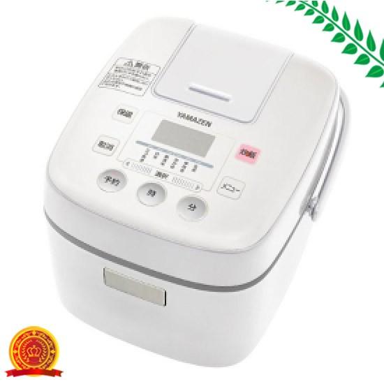 山善 炊飯器 3合 マイコン式 ホワイト YJC-300(W)...