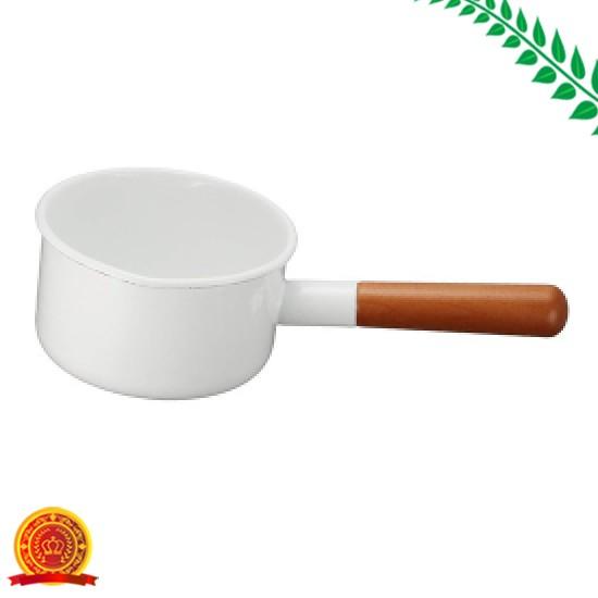 野田琺瑯 ミルクパン ポーチカ 12cm PO-12M[代引...