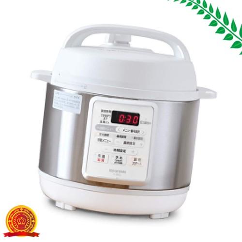 アイリスオーヤマ 電気圧力鍋 3.0L 12種類自動メ...