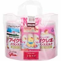 【アイクレオのバランスミルク 800g*2缶セット】[...