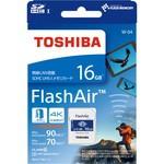 【東芝 無線LAN搭載SDHC/SDXCメモリカード FLash...