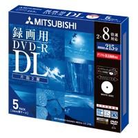 三菱ケミカルメディア DVD-R DL 2層式 1回録画用 ...
