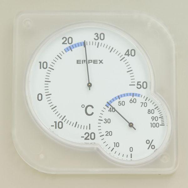 【メール便発送可】ELPA 温湿度計 シュクレミディ...
