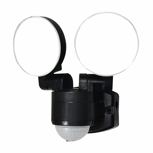 ELPA LEDセンサーライト 屋外センサーライト 防雨...