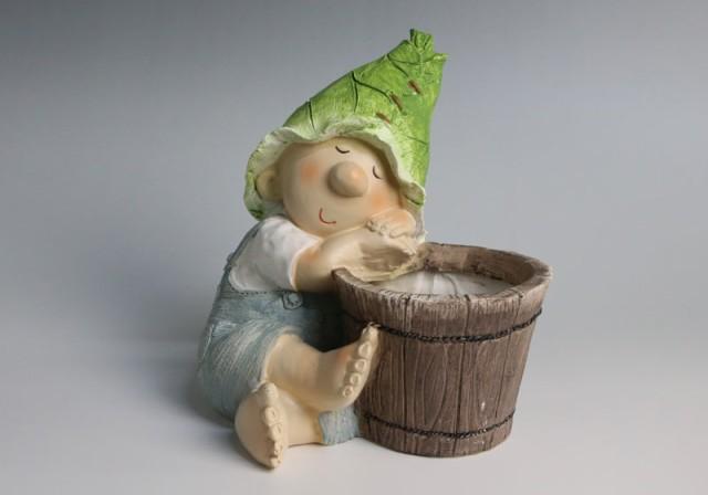 男の子の鉢カバー