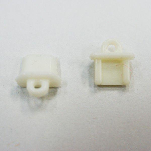 Micro USB Micro-B コネクタカバー STP-24 白 100...