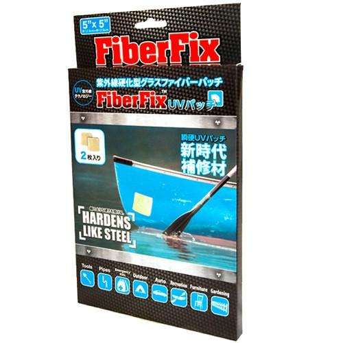 FiberFix 最強補修 UVパッチ 箱入 幅12.5cm×長さ...