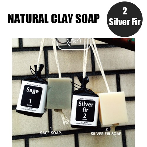 Urban ole ecopark Natural Clay Soap 2.もみの...