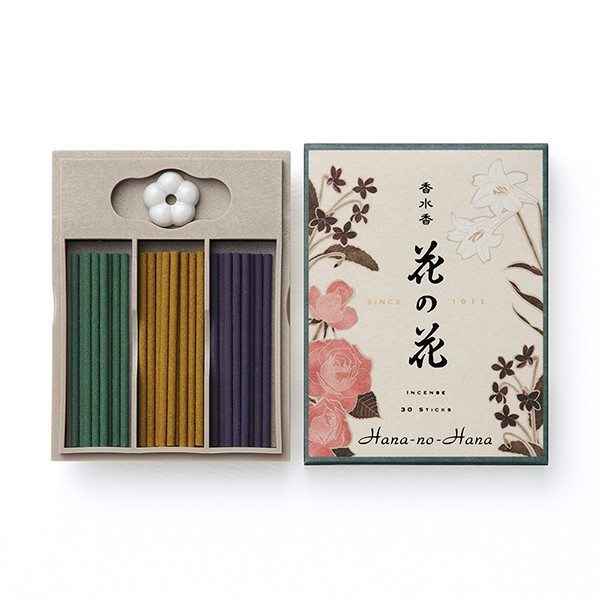 香水香 花の花 3種入 スティック30本入 【 ...