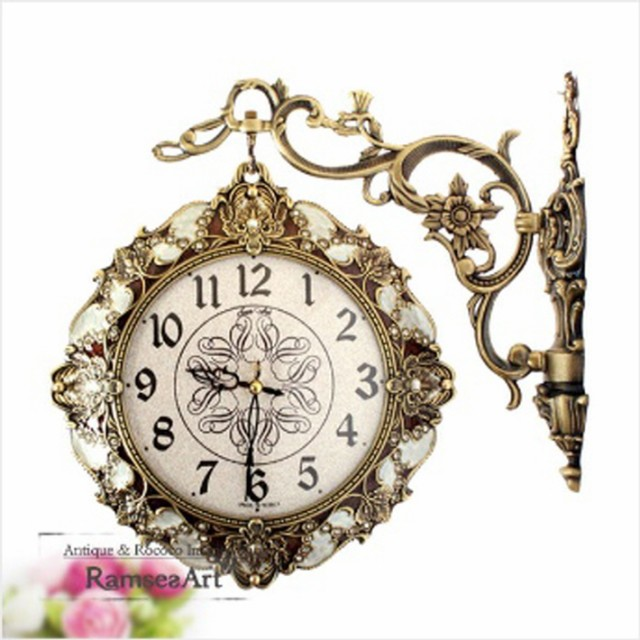 ジェーン両面時計-IVORY