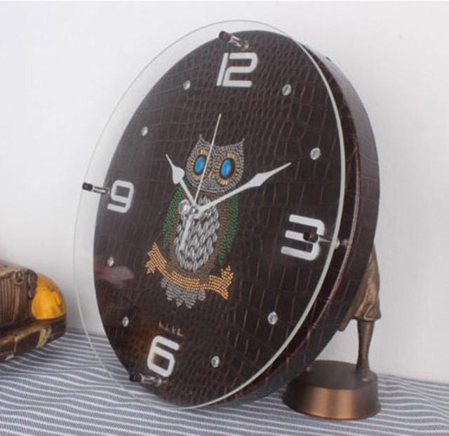 ふくろう掛け時計YD310B