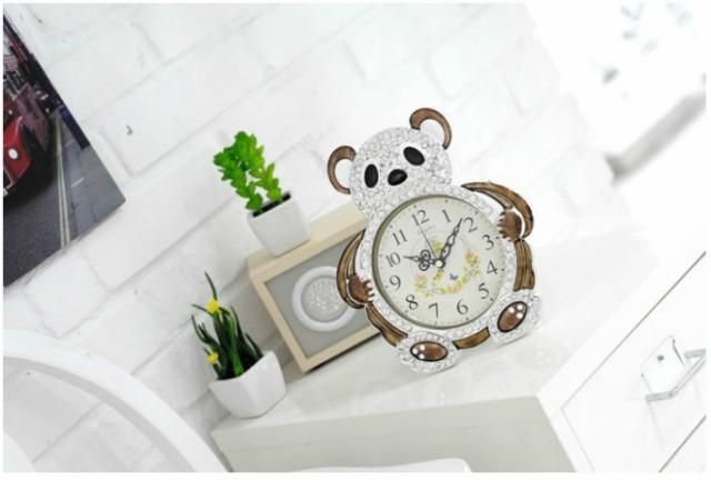 置き時計 teddy bear置き時計-トパーズ 置時計 お...