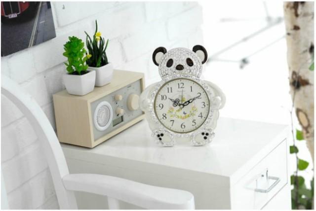 置き時計 teddy bear置き時計 置時計 おしゃれ 北...