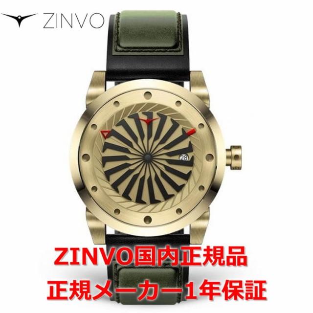 【国内正規品】ZINVO ジンボ メンズ 腕時計 GOLD ...