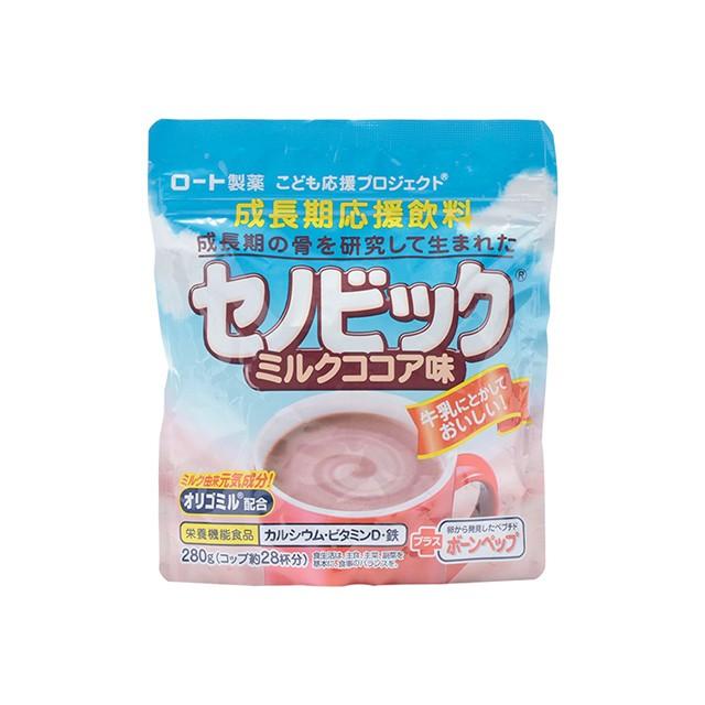 ロート セノビック 成長期応援飲料 ミルクココア...